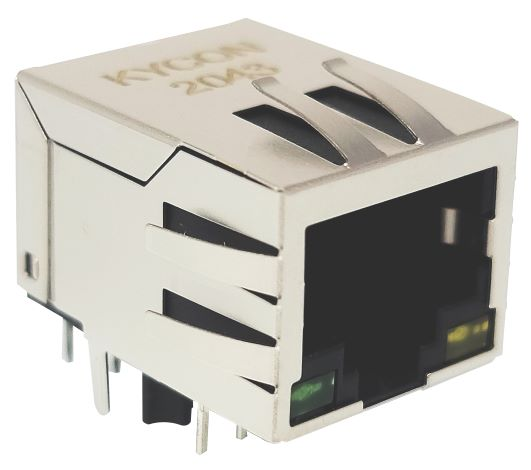 Kycon expands offerings of RJ45 Modular Jacks with Magnetics