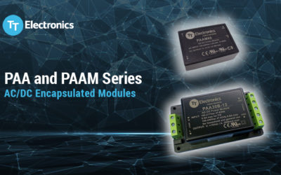 New Encapsulated Power Modules from TT Electronics